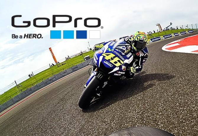 Valentino Rossi firma parceria com a GoPro