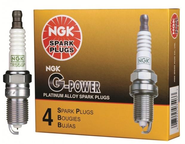 Nova vela da NGK, G-Power, intermediária entre as comuns e as de iridium