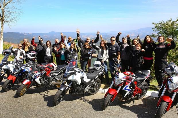 Honda 45 anos: passeio com colegas jornalistas para celebrar