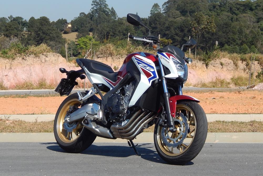 3e2e27bcc7 Teste Honda CB 650F  para aparecer e se divertir