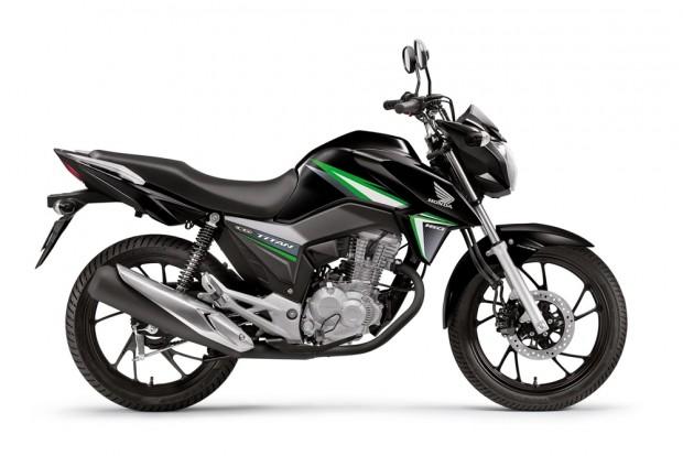 O preço sugerido da CG 160 Titan é de R$ 9.970,00 e ...