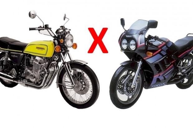 A eterna rivalidade entre motores 2 e 4 T, protagonizada pela Sete Galo e a RD 250