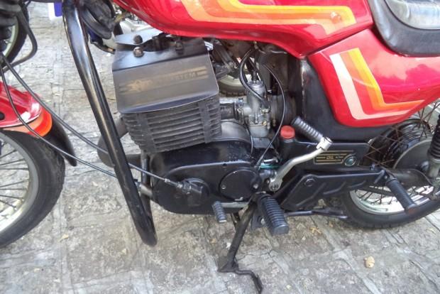 O pedal de partida no lado esquerdo era uma coisa muito estranha - foto: Mário Figueredo