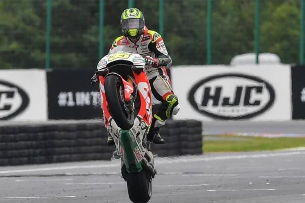 Cal Crutchlow conseguiu a tão sonhada primeira vitória na MotoGP™, na etapa anterior