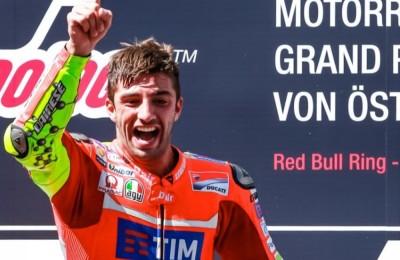 Ducati Team faz dobradinha histórica no GP da Áustria