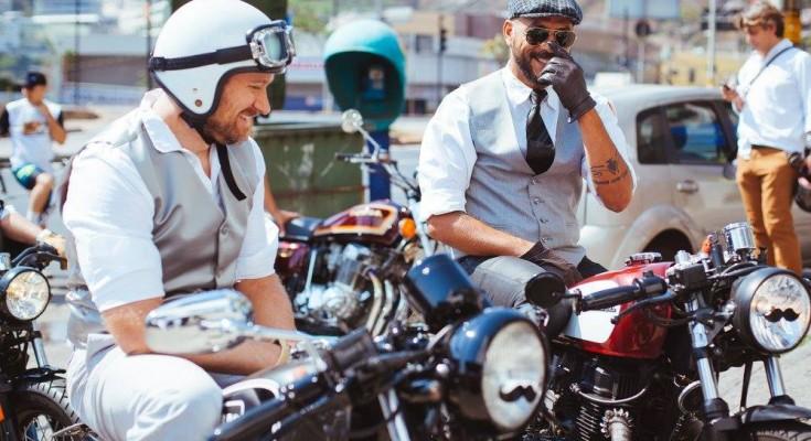 "Pelo 3º ano Triumph patrocina o ""Distinguished Gentleman's Ride"""