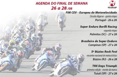 agenda evento moto
