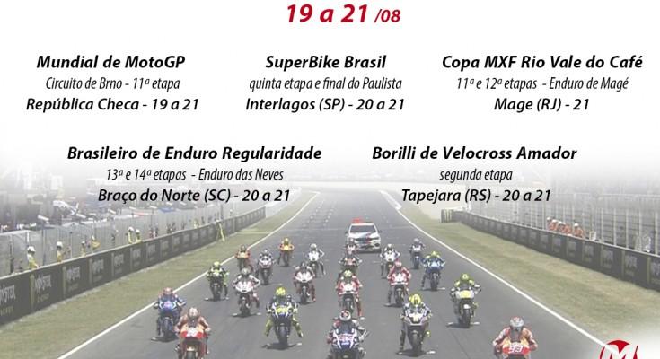 agenda moto motogp superbike