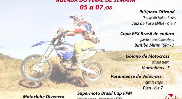 Agenda deste final de semana está recheada de eventos de moto pelo Brasil