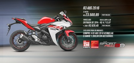 Kit Sport Red agrega esportividade ao modelo. Inspiração na moto #99, de Jorge Lorenzo