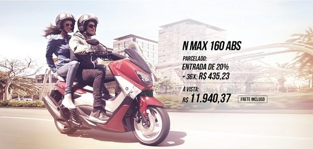 N Max 160 com ABS