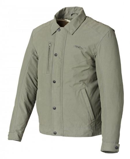 Bonita e moderna, elaborada em material respirável, anti-vento e à prova de água, e jaqueta Triumph tem seu preço em R$ 890,00