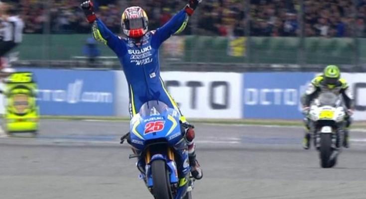 Maverick Vinãles leva Suzuki à sua primeira vitória desde o seu retorno à MotoGP