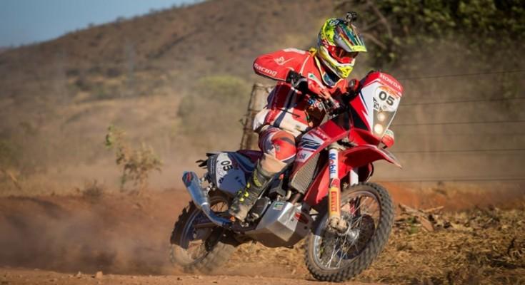 Gregorio Caselani venceu a terceira etapa e assumiu liderança do Sertões - foto: Victor Eleuterio