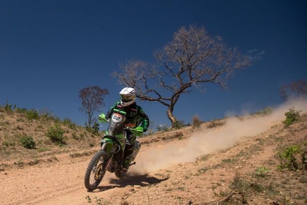 Ramon Sacilotti assumiu a vice-liderança das motos na terceira etapa - foto: Victor Eleutério