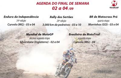 agenda rally dos sertões indepencia motogp motonline