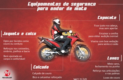 equipamentos de seguranca moto