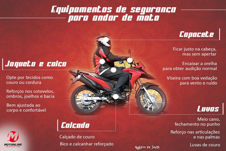 Atenção na hora de escolher seus equipamentos de segurança   Motonline e95c525a81