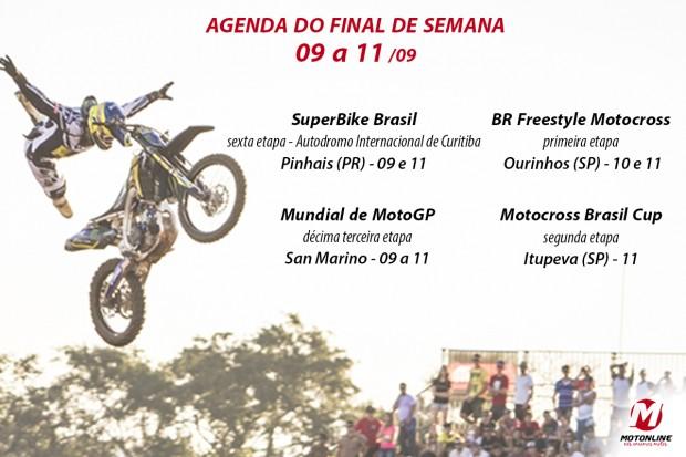 Brasileiro de Freestyle Motocross realiza sua primeira etapa em 2016. Saiba mais sobre eventos de moto