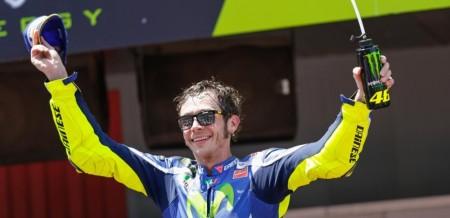Sua ousadia deixou claro a determinação de Valentino Rossi na briga pelo título. Se ele vencer, levará o oitavo troféu para casa