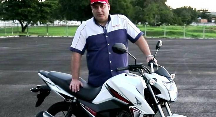Alfredo Guedes, da Honda, é um dos participantes do painel sobre motocicletas