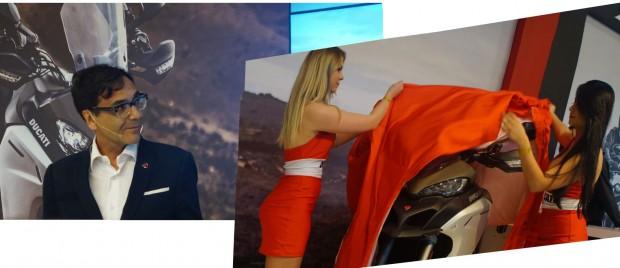 Antonini Labati CEO da Ducati di Brasil apresentou a nova Ducati 1200 Multistrada Enduro