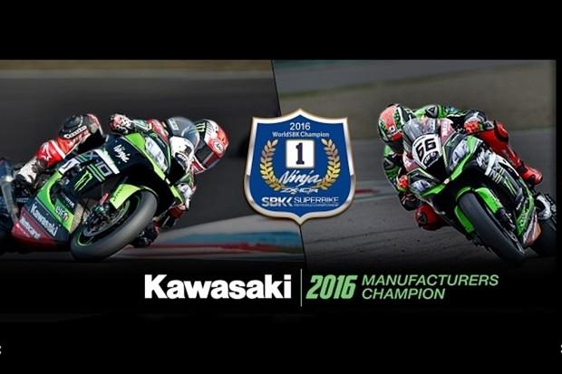 Kawasaki é equipe bicampeã do Mundial de SuperBike (WSBK)