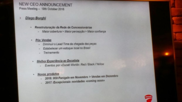 Diego Borghi assume com um grande desafio