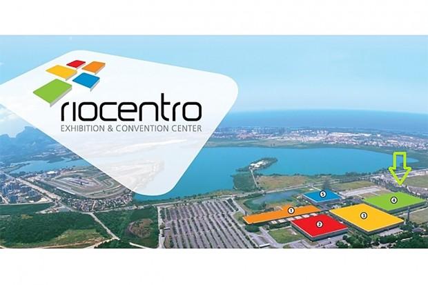 Evento acontece no pavilhão 4 do Riocentro, com mais de 23 mi metros quadrados