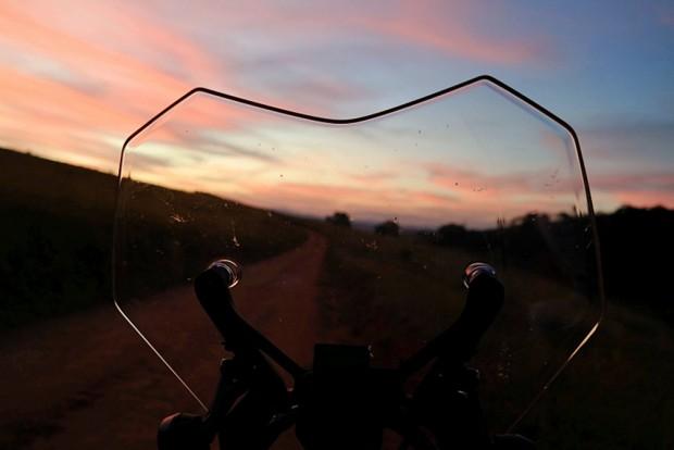 Viajar de moto sempre vale a pena