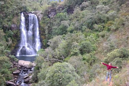Na lista de atrações de Aiuruoca destaque para cachoeiras