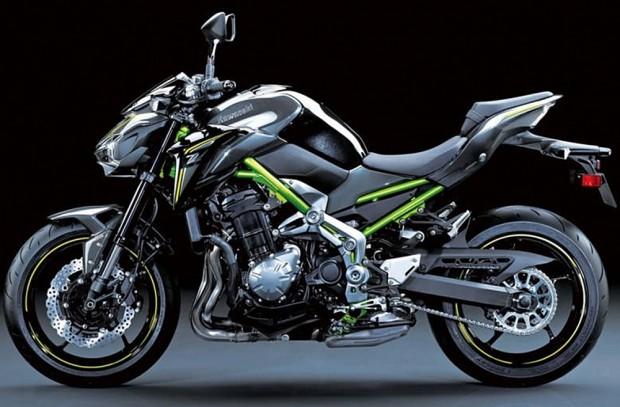 Nova Kawasaki z900 gera 125cv
