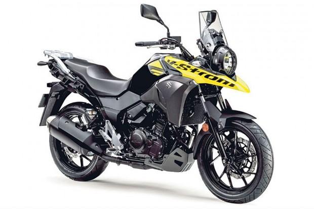 Aguardada mas ainda não confirmada por aqui: Suzuki V-Strom 250