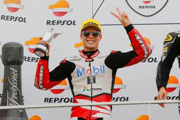 Granado obteve três pódios na temporada, incluindo este segundo lugar. Ao final do calendário 2016, conquistou a quarta colocação