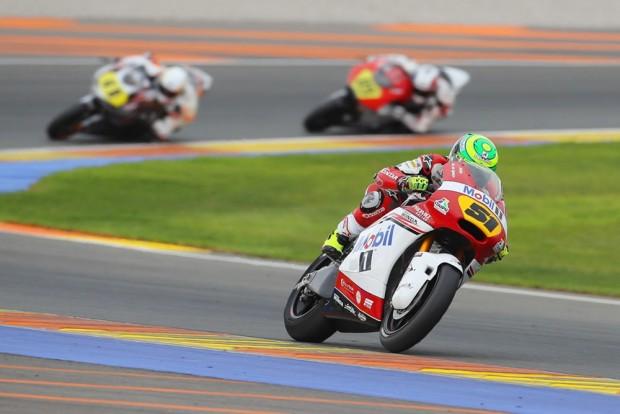 Segundo Eric Granado, os bons ajustes da moto contribuíram para o resultado no Europeu de Moto2