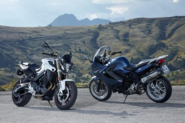 Mecânica praticamente idêntica, mas visual próprio entre as irmãs BMW F 800 R e F 800 GT
