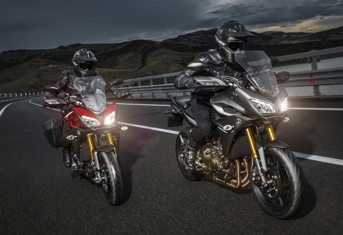 Família Yamaha MT 2017 chega com novas cores