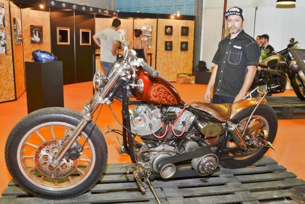 Esculturas, fotografias, tanques e capacetes customizados, peças artesanais e gravação em metais. Customização terá lugar especial no Salão Moto Brasil 2017