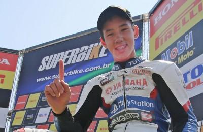 motogp brasileiro rookies cup meikon kawakami