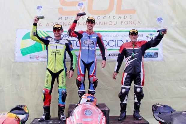 Além do título nordestino, José Duarte conquistou o vice-campeonato da Copa Sol de Motovelocidade