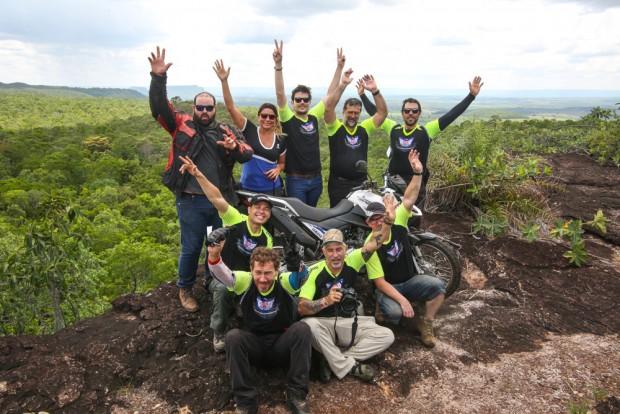 Grupo percorreu 2500 quilômetros com a Crosser 150. Confira o primeiro episódio, em vídeo, da aventura