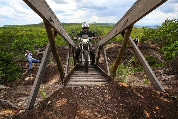 Definitivamente, uma viagem para corajosos - independente de seu sexo ou cilindrada de sua moto