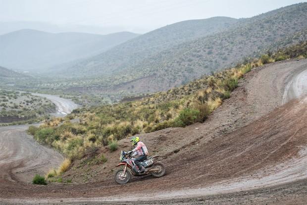 Gregorio Caselani deve de abandonar o Rally Dakar seguindo orientações médicas (Foto: José Maria Dias / Fotop / Vipcomm)