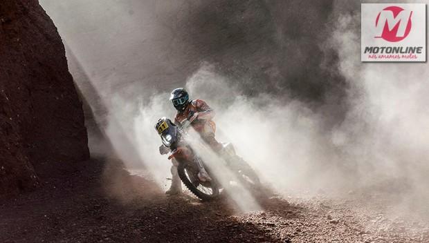 Joan Barreda: Cautela e frieza para vencer a etapa e liderar a competição (Foto: E. Vargiolu - DPPI)