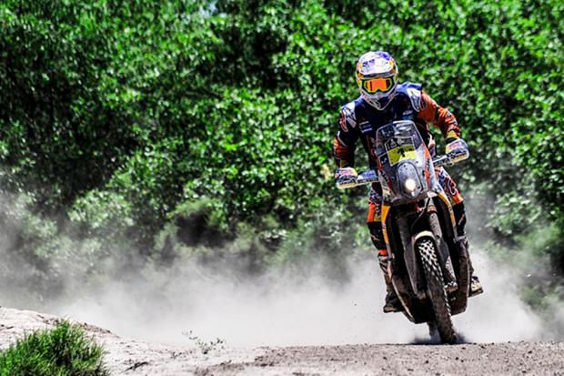 Toby Price devorou a segunda etapa do Rally Dakar 2017 (Foto: DPPI)