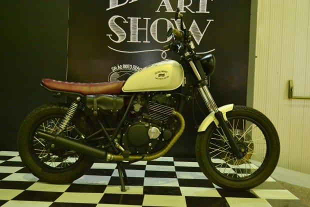 Bike & Art Show: 1200 m² para customização de motos