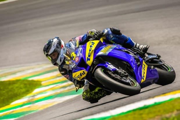 Danilo Lewis, atual vice-brasileiro de SuperBike, é um dos pilotos confirmados