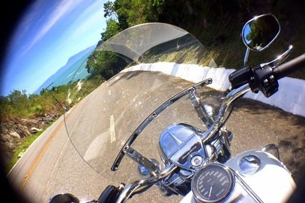 H-D Road King em Bombinhas/SC