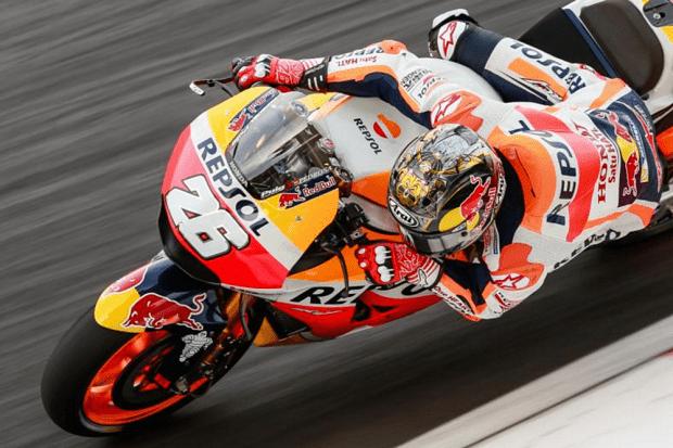 Pedrosa enfim desencantou no teste oficial da MotoGP. Foi P4