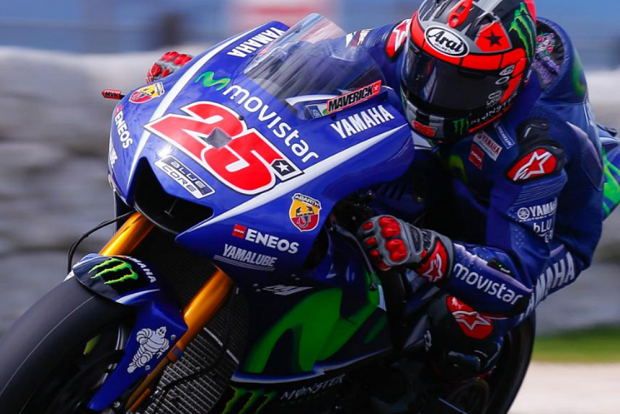 Maverick Viñales foi imbatível nos treinos oficiais da MotoGP em Phillip Island